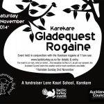 Karekare Gladefest Poster
