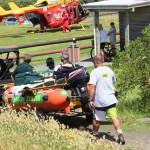 Rescue at North Piha