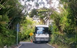 Bus stuck Karekare
