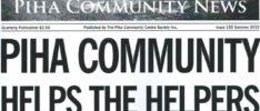 Piha Community News